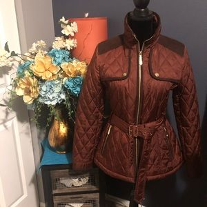 Vince Camino jacket. Rust color